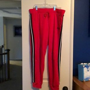 PINK sweatpants with pockets